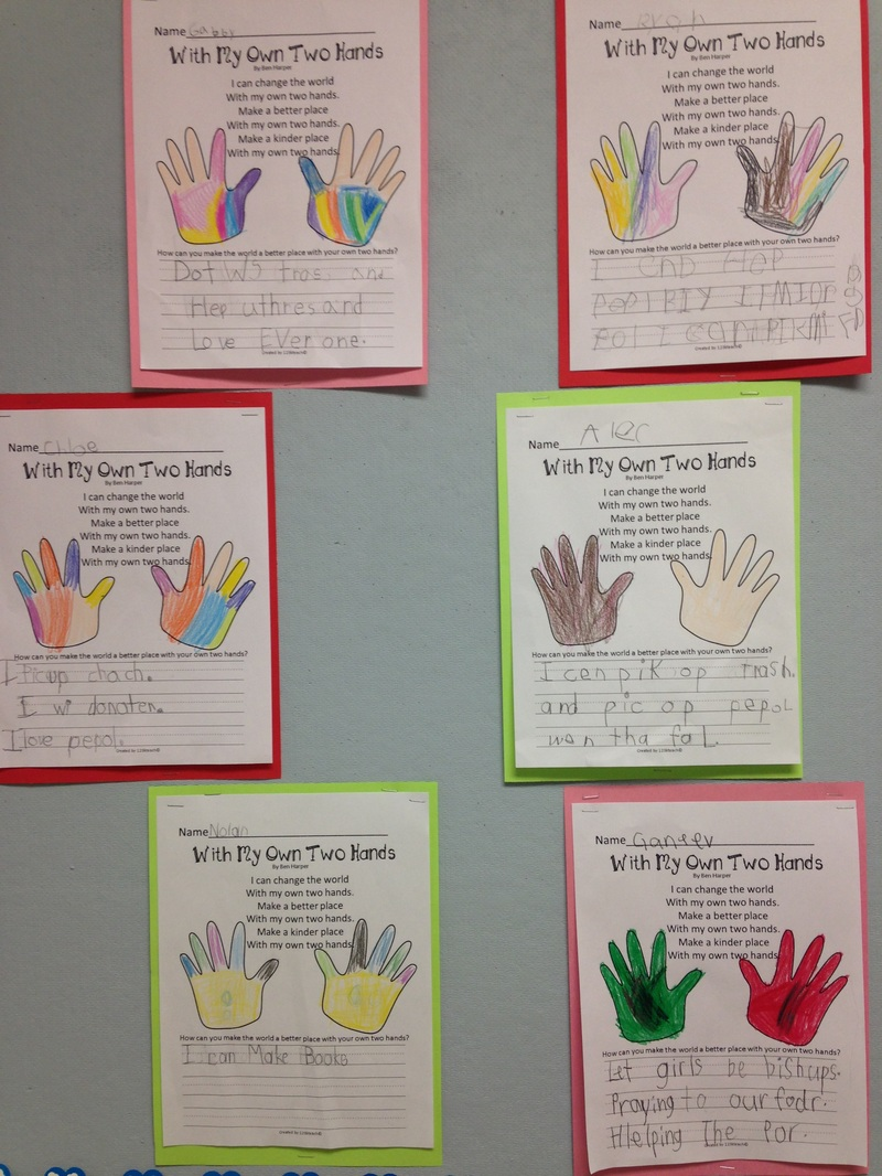 two hands poem